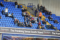 Fans of Swansea City during the Sky Bet Championship match between Bolton Wanderers and Swansea City at the Macron Stadium in Bolton, England, UK. Saturday 10 November 2018