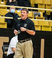 Tom Halbmaier, head girls basketball coach for Bentonville against Springdale Har-ner at Tiger Arena, Bentonville, AR January 5, 2021 / Special to NWA Democrat-Gazette/ David Beach