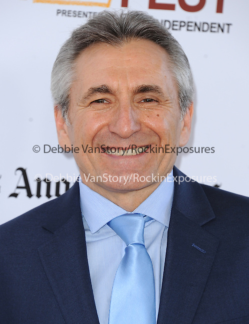 """Lou Volpe attends The Los Angeles Film Festival 2014 Closing Night Premiere of Warner bros. Pictures """"Jersey Boys"""" held at The Regal Cinemas L.A. Live in Los Angeles, California on June 19,2014                                                                               © 2014 Hollywood Press Agency"""