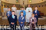 Lixnaw 1st  Communion: M/s Windle  communion class from Scoil Mhiure de Lourdes, Lixnaw who received their 1st Communion from Fr. Anthony O'Sullivan at St. Michael's Church, Lixnaw on Saturday last.