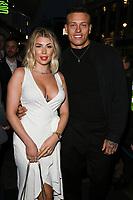 Olivia Buckland and Alex Bowen<br /> arriving for James Ingham's Jog on to Cancer 2018 at Cafe de Paris, London<br /> <br /> ©Ash Knotek  D3391  04/04/2018