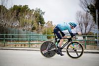 Jakob Fuglsang (DEN/Astana - Premier Tech)<br /> <br /> Final stage 7 (ITT) from San Benedetto del Tronto to San Benedetto del Tronto (10.1km)<br /> <br /> 56th Tirreno-Adriatico 2021 (2.UWT) <br /> <br /> ©kramon