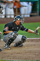 Tanner Hill (9) of the Missoula Osprey on defense against the Ogden Raptors in Pioneer League action at Lindquist Field on July 13, 2016 in Ogden, Utah. Ogden defeated Missoula 8-2. (Stephen Smith/Four Seam Images)