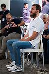 "Sergio ""El Chacho"" Rodriguez during the event ""Reta a tu idolo"" at Plaza Mayor in Madrid. September 12, Spain. 2016. (ALTERPHOTOS/BorjaB.Hojas)"