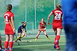 Mannheim, Deutschland, March 30: Charlotte van Bodegom #14 of the Mannheimer HC looks on during the match between the Mannheimer HC and Eintracht Braunschweig on March 30, 2014 at Mannheimer Hockey Club in Mannheim, Deutschland. Final score 2:2 (1:2) (Photo by Dirk Markgraf / www.265-images.com) *** Local caption ***