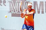 Russian tennis player Svetlana Kuznetsova during Madrid Open Tennis 2014 match. May 05, 2014. (ALTERPHOTOS/Victor Blanco)