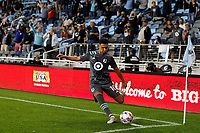 SAINT PAUL, MN - MAY 15: Emanuel Reynoso #10 of Minnesota United FC with a corner kick during a game between FC Dallas and Minnesota United FC at Allianz Field on May 15, 2021 in Saint Paul, Minnesota.