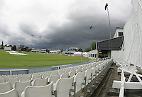 General view of bad weather approaching - Ford County Ground, New Writtle Street, Chelmsford, home of Essex County Cricket Club - 24/05/06 - MANDATORY CREDIT: Gavin Ellis/TGSPHOTO. Self-Billing applies where appropriate. NO UNPAID USE. Tel: 0845 094 6026