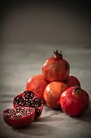 Gastronomie générale / Diététique /  Grenade d'agriculture biologique   // General gastronomy / Diet / Grenada from organic farming