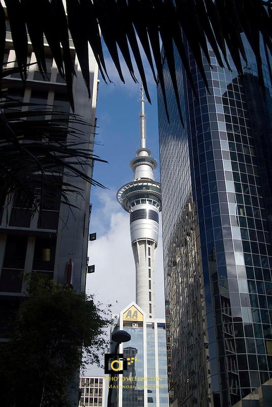 Auckland Sky Tower<br /> Photo by Masanori Udagawa<br /> www.photowellington.com