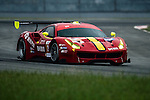 DH Racing, #3 Ferrari 488 GT3, driven by Rino Mastronardi, Alex Riberas and Olivier Beretta in action during the Free Practice 1 of the 2016-2017 Asian Le Mans Series Round 1 at Zhuhai Circuit on 29 October 2016, Zhuhai, China.  Photo by Marcio Machado / Power Sport Images