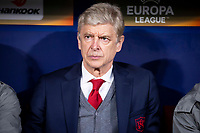Arsenal FC coach Arsene Wendger during Europa League Semi Finals First Leg match between Atletico de Madrid and Arsenal FC at Wanda Metropolitano in Madrid, Spain. May 03, 2018.   *** Local Caption *** © pixathlon<br /> Contact: +49-40-22 63 02 60 , info@pixathlon.de