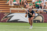 NEWTON, MA - MAY 22: Kasey Choma #3 of Notre Dame free position during NCAA Division I Women's Lacrosse Tournament quarterfinal round game between Notre Dame and Boston College at Newton Campus Lacrosse Field on May 22, 2021 in Newton, Massachusetts.
