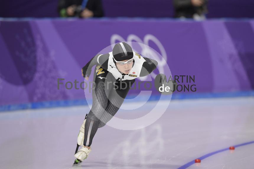 OLYMPIC GAMES: PYEONGCHANG: 16-02-2018, Gangneung Oval, Long Track, 5.000m Ladies, Nana Takagi (JPN), ©photo Martin de Jong