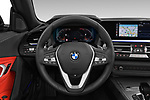 Car pictures of steering wheel view of a 2019 BMW Z4 Sport 2 Door Convertible Steering Wheel