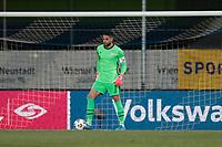 WIENER NEUSTADT, AUSTRIA - MARCH 25: Zack Steffen #1 of the United States during a game between Jamaica and USMNT at Stadion Wiener Neustadt on March 25, 2021 in Wiener Neustadt, Austria.