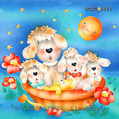 Hans, CUTE ANIMALS, paintings+++++,DTSC5461,#AC# deutsch, illustrations, pinturas