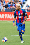 FC Barcelona's Neymar Santos Jr during the match of La Liga between Club Deportivo Leganes and Futbol Club Barcelona at Butarque Estadium in Leganes. September 17, 2016. (ALTERPHOTOS/Rodrigo Jimenez)