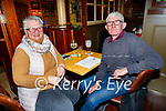 Ann and Liam Denieffe enjoying the evening in the Mall Tavern on Friday.