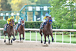 May 02, 2020:Nadal (5) with jockey Joel Rosario aboard during the 2nd division of the Arkansas Derby at Oaklawn Racing Casino Resort in Hot Springs, Arkansas on May 2, 2020. Ted McClenning/Eclipse Sportswire/CSM