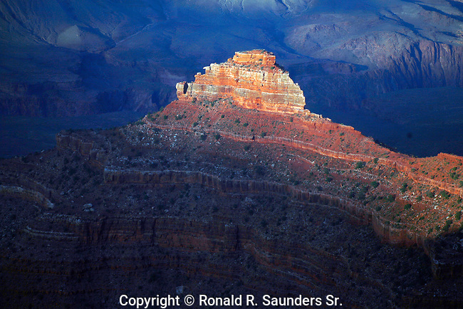 View of Grand Canyon from Mather Point<br />