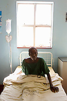Memory, 30, has AIDS and is receiving treatment in a rural hospital. Zimbabwean women's life expectancy has dropped from 65 to 34 - the lowest in the world - in ten years, in part due to the HIV virus.