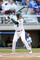 Beloit Snappers third baseman Renato Nunez #8 during a game against the Cedar Rapids Kernels on May 23, 2013 at Pohlman Field in Beloit, Wisconsin.  Beloit defeated Cedar Rapids 5-3.  (Mike Janes/Four Seam Images)