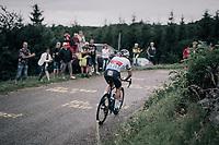 Zdenek Stybar (CZE/Quick-Step Floors) up the first HC climb of the day; the Col de la Biche (10.5km @9%)<br /> <br /> 104th Tour de France 2017<br /> Stage 9 - Nantua › Chambéry (181km)