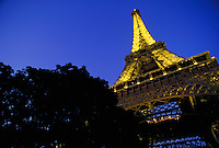 Eiffel Tower at night. Paris, France. Paris, France Eiffel Tower.