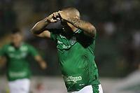 Campinas (SP), 27/01/2020 - Guarani-Santos - Rafael Costa comemora gol do Guarani. Partida entre Guarani e Santos válida pela segunda rodada do Campeonato Paulista no estádio Brinco de Ouro da Princesa, em Campinas, interior de São Paulo, nesta segunda-feira (27).