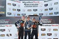 Winners #77 Compass Racing, Audi RS3 LMS TCR, TCR: Britt Casey Jr, Tom Long, podium