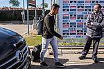 Spainsh Thiago Alcantara arriving at the concentration of the spanish national football team in the city of football of Las Rozas in Madrid, Spain. November 08, 2016. (ALTERPHOTOS/Rodrigo Jimenez)