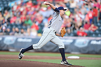 ***Temporary Unedited Reference File***Northwest Arkansas Naturals starting pitcher Christian Binford (32) during a game against the Springfield Cardinals on April 26, 2016 at Hammons Field in Springfield, Missouri.  Northwest Arkansas defeated Springfield 5-2.  (Mike Janes/Four Seam Images)