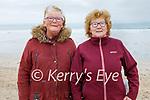 Enjoying a stroll on Ballyheigue beach on Saturday, l to r: Mary Moore and Christine Murnane.