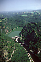 Europe/France/Limousin/19/Corrèze/Env de Lapleau: Barrage de l'Aigle - Vue Aérienne