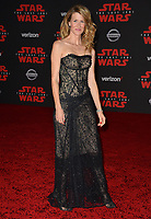 """Laura Dern at the world premiere for """"Star Wars: The Last Jedi"""" at the Shrine Auditorium. Los Angeles, USA 09 December  2017<br /> Picture: Paul Smith/Featureflash/SilverHub 0208 004 5359 sales@silverhubmedia.com"""