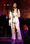 """Nicole Vanessa Ortiz performing a press preview of  """"Becoming Her : A Diva's Tribute""""  at Feinsteins/54 Below on February 21, 2019 in New York City."""
