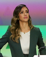 NEW YORK, NY - MAY 5: Jessica Alba Founder of The Honest Company rings the Opening Bell at Nasdaq in New York City on May 05, 2021. <br /> CAP/MPI/RW<br /> ©RW/MPI/Capital Pictures