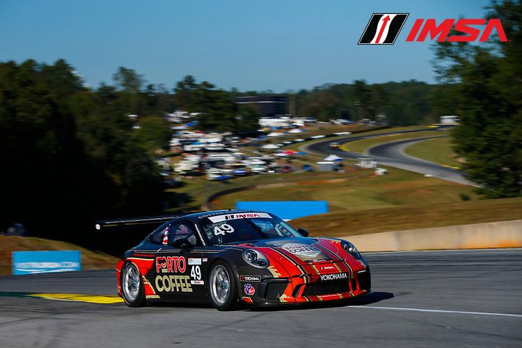 IMSA Porsche GT3 Cup Challenge USA<br /> Road Atlanta<br /> Road Atlanta, Braselton GA<br /> Wednesday 4 October 2017<br /> 49, Sebastian Landy, GT3P, USA, 2017 Porsche 991<br /> World Copyright: Jake Galstad<br /> LAT Images