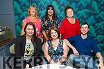 Kelsey O'Sullivan, Tina Armstrong, Matt Lucas who are leaving the Grand Hotel,  enjoying the evening in the Ashe Hotel on Thursday.<br /> Seated l to r: Kelsey O'Sullivan, Tina Armstrong, Matt Lucas. Back l to r: Betty Lenihan, Katie Foley and Maura Harris.