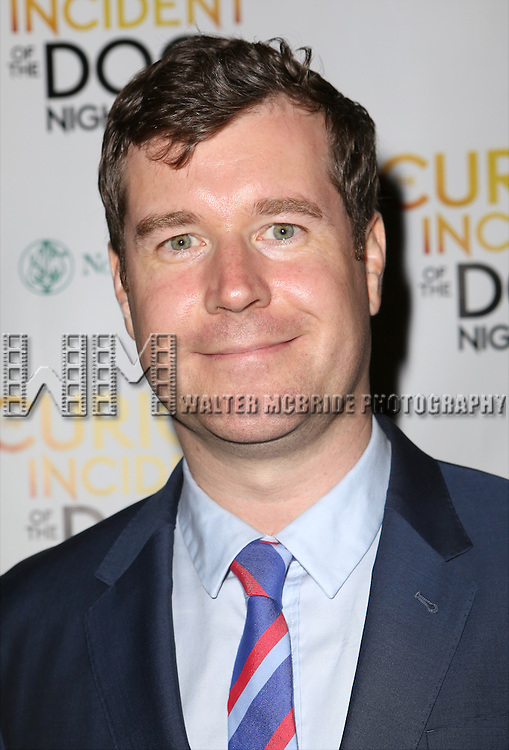 Tom Patrick Stephens attends the Broadway Opening Night Performance After Party for 'The Curious Incident of the Dog in the Night-Time'  at Urbo on October 5, 2014 in New York City.