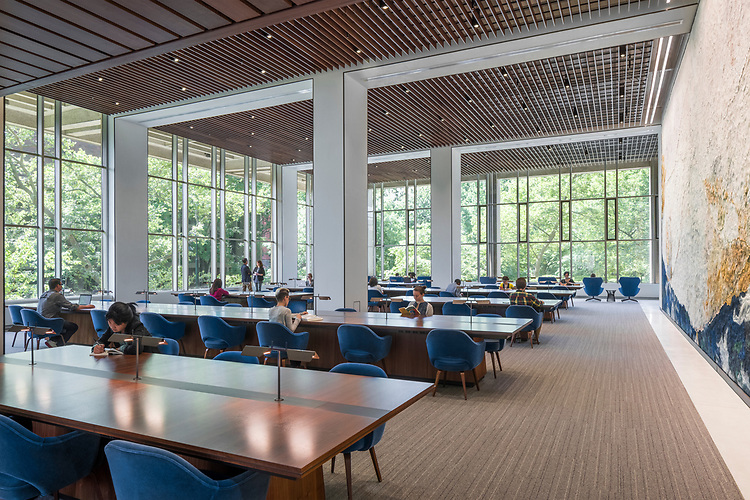 UPenn Van Pelt-Dietrich Library Center Moelis Family Grand Reading Room | Gensler