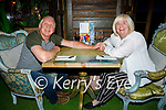 Enjoying the evening in Molly J's on Friday, l to r: Paul and Sharon Lowry from Dingle and Derry.