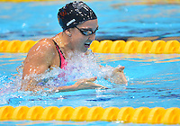 August 02, 2012..Rebecca Soni is competes in Women's 200m Breaststroke Final at the Aquatics Center on day six of 2012 Olympic Games in London, United Kingdom.