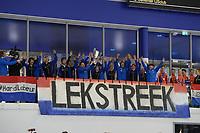 SCHAATSEN: HEERENVEEN: 06-10-2018, IJsstadion Thialf, NK CLUBS, winnaars de Leksteek, ©foto Martin de Jong