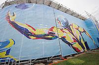 Water Polo Arena<br /> Water Polo Arena<br /> Day000 21/07/2015<br /> XVI FINA World Championships Aquatics Swimming<br /> Kazan Tatarstan RUS July 24 - Aug. 9 2015 <br /> Photo A.Masini/Deepbluemedia/Insidefoto