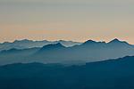Aerial View of the Coast Range, Oregon