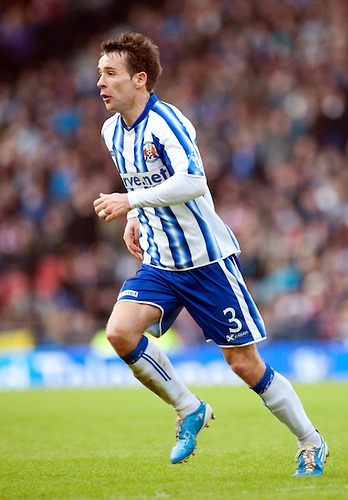GLASGOW, SCOTLAND - JANUARY 28:  Kilmarnock's Gary Hay during the Scottish Communities Cup Semi Final match between Ayr United and Kilmarnock at Hampden Park on January 28, 2012 in Glasgow, United Kingdom. (Photo by Rob Casey/Getty Images).