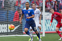 Carson, CA. - January 31, 2016: The US Men's National team defeated Iceland 3-2 in an international friendly at StubHub Center.