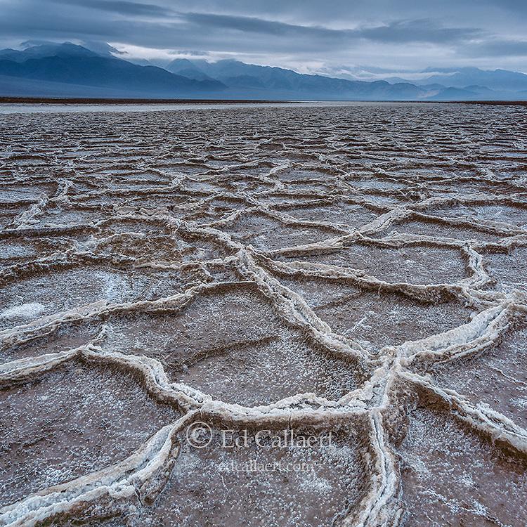 Rainfall, Salt Flats, Death Valley National Park, California